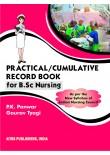 Practical/Cummulative Record Book for B.Sc. Nursing, 2/Ed. (H.B.)